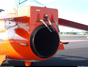 Turbine Aircraft Smoke Nozzle